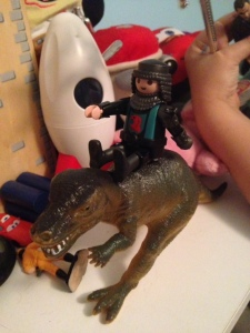 The T-rex riding marauder will get him otherwise.